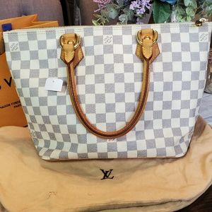 Sold💜Vuitton  Saleya Damier Azur